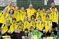 Mládežnický tým FŠ Litvínov vybojoval doma zlato.