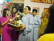 V buddhistické svatyni v Mostě se konala náboženská slavnost Thuong Nguyen