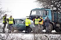 Tragická nehoda u Havraně. Středa 10. března