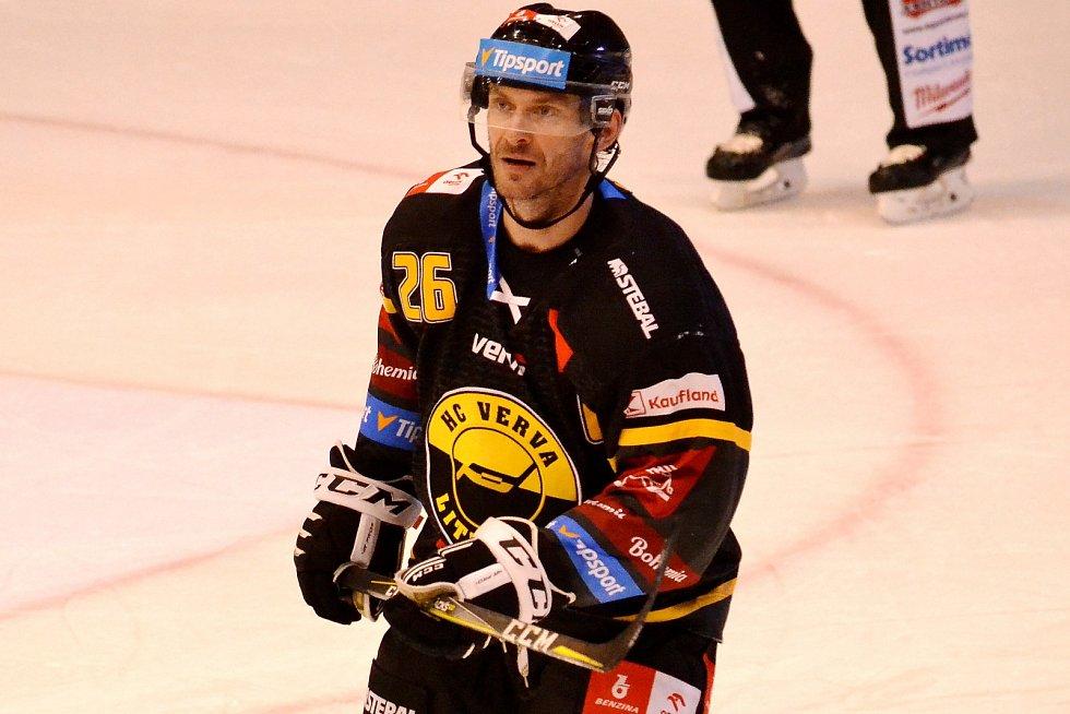 Extraligový rekordman Viktor Hübl.