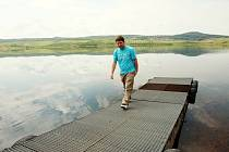 Jezero Milada vzniklo jako Jezero Most zatopením zrušené šachty na uhlí. Přístup k jezerům je zatím na zvláštní povolení, nebo při dnech otevřených dveří.