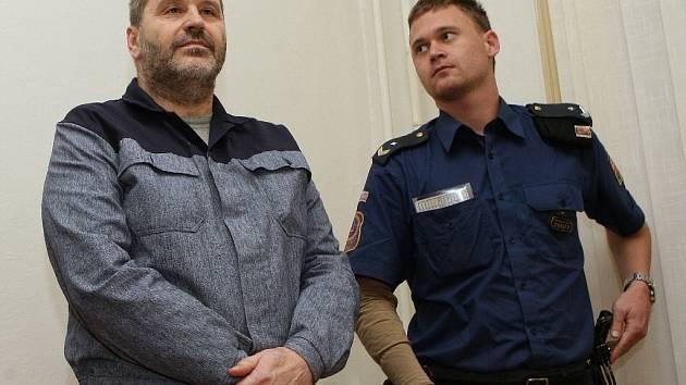 Vězeň Alexandr Novák.