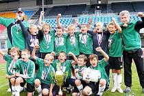 Malí fotbalisté Baníku Most slavili úspěchy v turnajovém klání.