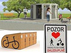 Město Most chce zlepšit zázemí pro cyklisty a inspiruje se jinde.