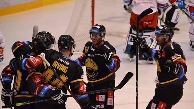 Litvínovští hokejisté.