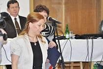 Kamila Bláhová se stala starostkou Litvínova.