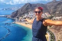 Eva Bezpalcová ve slunném Španělsku, které je teď jejím házenkářským domovem.