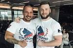 Zleva Mostečan Petr Pastýřík a Jan Gruszka.