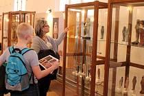 Dalším hitem oblastního muzea v Mostě bude výstava o Africe s názvem Bílý kanibal. Na snímku jedna z bývalých úspěšných výstav Egypt na Nilu.