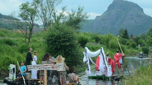 Neckyáda pobavila vesnici Želenice