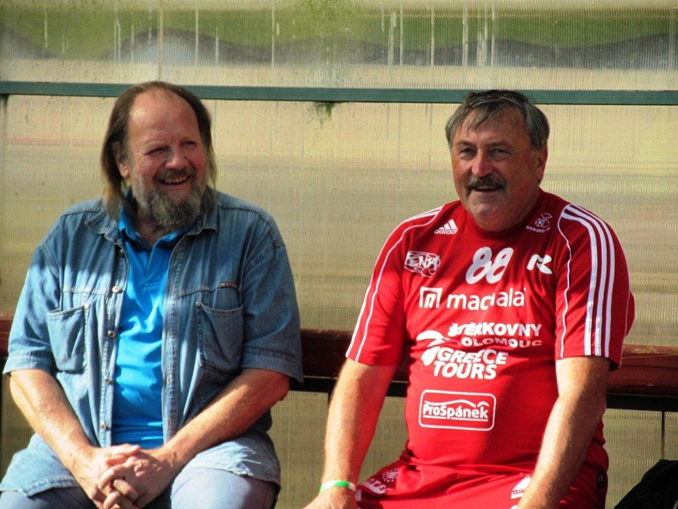 Lešek Semelka a Antonín Panenka.