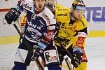 Poslední tým extraligy z Litvínova doma hostil Vítkovice.