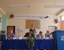 Konference k 25. výročí  Základní organizace neslyšících.