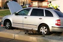 Nehoda v mostecké Okružní ulici