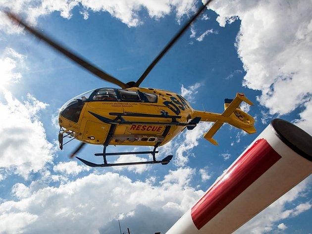 Letecká záchranná služba.