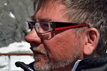 Mostečan Martin Brádek v Antarktidě.