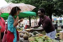 Africké trhy v Litvínově