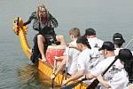 Závody dračích lodí na Matyldě, 2013