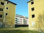 Prázdné domy u Stovky.