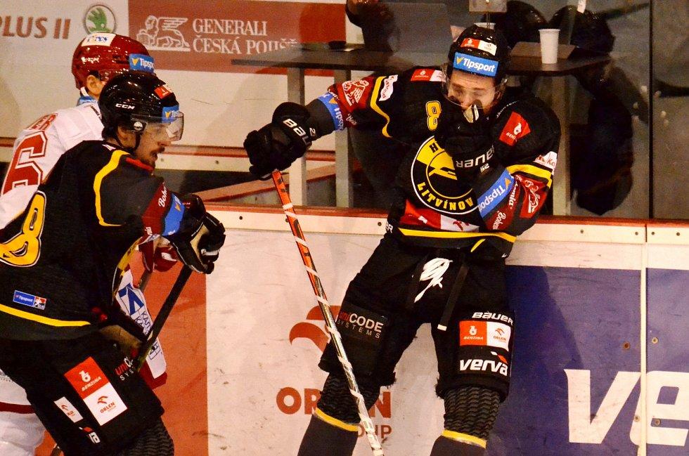 Litvínov doma hostil Třinec.