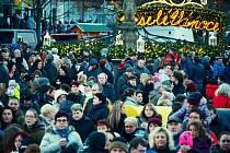 Vánoční trhy v Mostě.