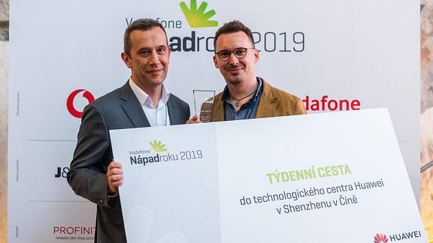 Jiří Nedvěd z Mostu získal ocenění Startup roku 2019 za vývoj nové mobilní aplikace pro realitní trh.