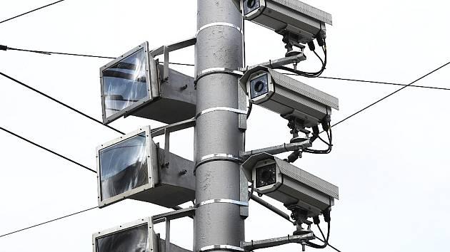 Kamery u silnice.