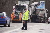Oprava Tvrzovy ulice v Mostě