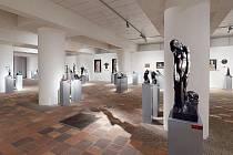 Na webu muzea a galerie lze teď vidět výstavy malíře Jaroslava Valečky a sochaře Quido Kociána.