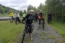 Turistickou sezonu v Krušných horách zahájila cyklojízda