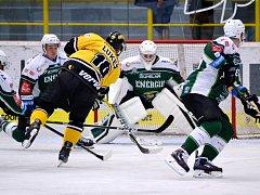 V úterý Litvínov na svém ledě přetlačil Vary v nájezdech. Ve čtvrteční odvetě ve Varech Verva prohrála.