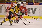 Litvínov jako předposlední tým tabulky hostil poslední Pardubice.