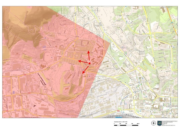 Červený puntík vmapce označuje místo bydliště dívky.