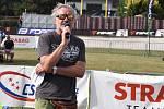 Sportovní komentátor a fotograf Martin Straka