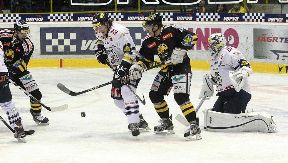 Hokejisté Litvínova i tentokrát na svém ledě podlehli svým soupeřům z Liberce