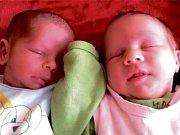 Mamince Markétě Pastyříkové se narodila dvojčata Nikolka a Sofie Janáčkovy.