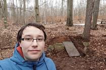 Objeven byl zapomenutý pomník Truntschův kámen