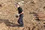 Nález munice u Komořan, srpen 2011