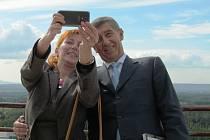 Mostecko navštívili ministři Andrej Babiš a Richard Brabec.