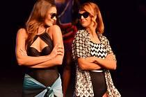 Charitativní módní show Móda a hvězdy v Mostě