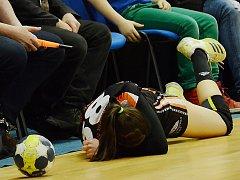 Talentovaná Dominika Zachová skončila po ráně téměř mezi fanoušky.