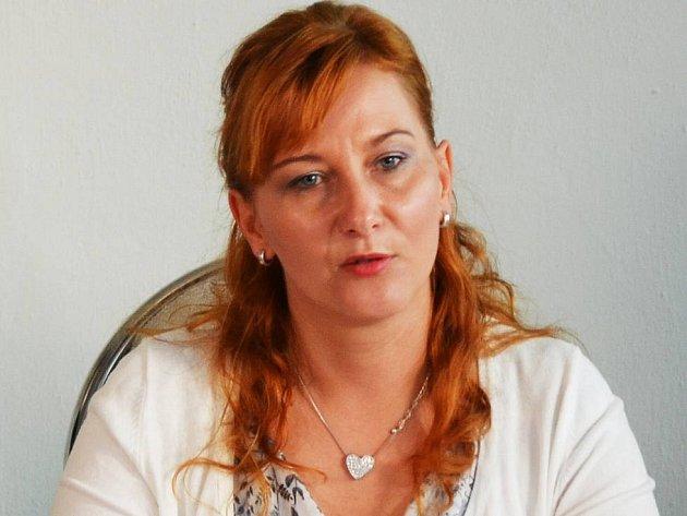 Starostka Litvínova Kamila Bláhová.