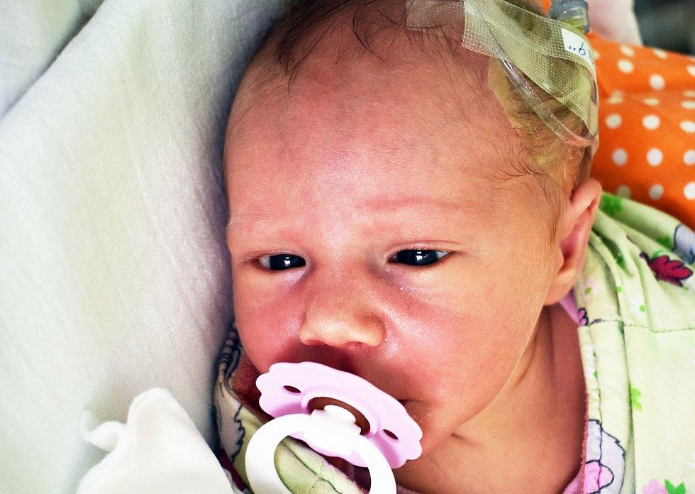 Viktorie Mašková se narodila Markétě Maškové 6. září v 8,29 hodin v teplické porodnici. Měřila 50 cm, vážila 2,95 kg.