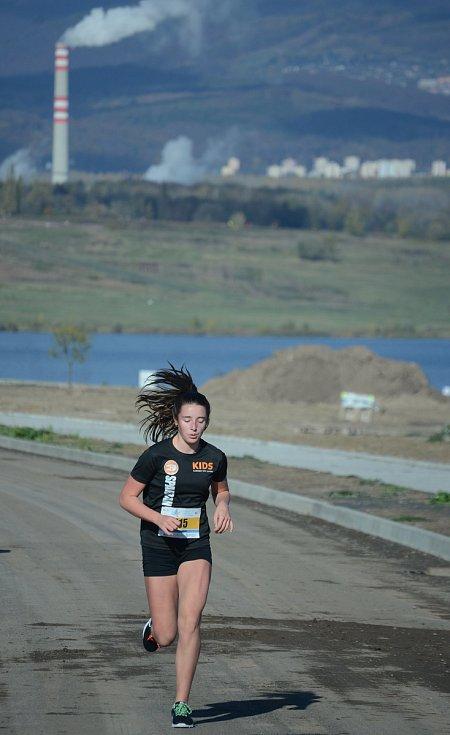Běh kolem jezera Most.