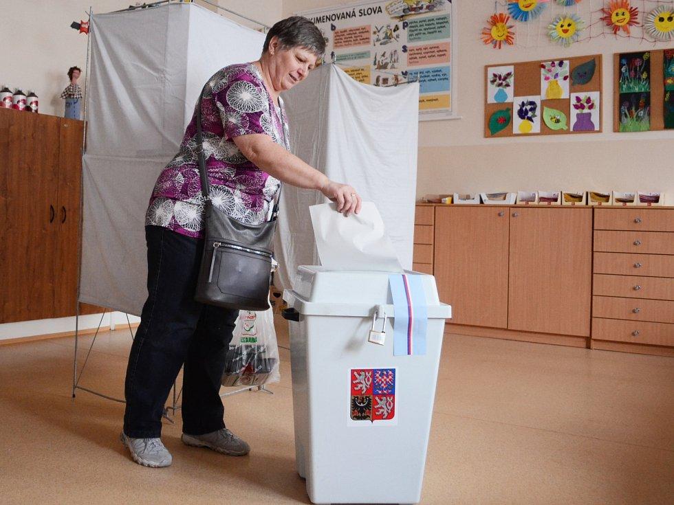 Volby do Evropského parlamentu v Mostě