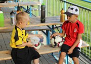 Letní fotbalový kemp pořádaný OFS Most.