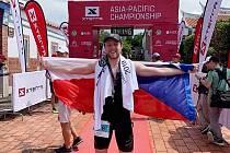 Jaroslav Soldátek v dalekém Taiwanu probíhá cílem.