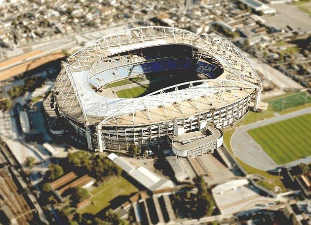 Olympijský stadion vRiu.