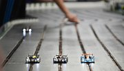Závody modelů ve Středisku volného času v Mostě