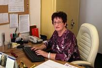 Hana Řebíková musela po volbách vyklidit kancelář pro starostu Hory Svaté Kateřiny. Nahradil ji Lukáš Pakosta. Řebíková je zastupitelkou.
